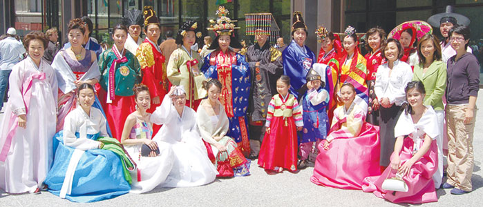 Korean Traditional Royal Court Fashion Show